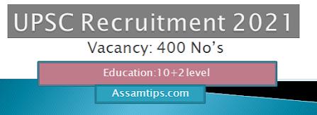 UPSC NDA and NA Recruitment 2021