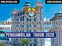 Jawatan Kosong di Majlis Bandaraya Seberang Perai (MBSP)