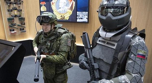 Η Ρωσία δοκιμάζει πανοπλία για σούπερ στρατιώτες