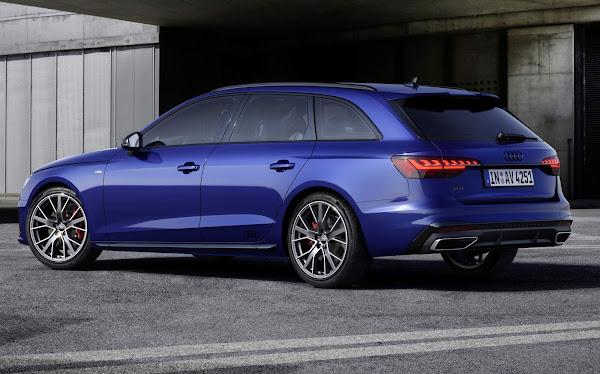 Audi A4 e A5 2022 ganham aparência mais esportiva com pacote Competition