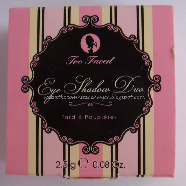 Too faced, Eye shadow duo, ohh & ahh