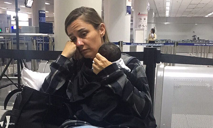 American woman arrested at NAIA for hiding 6-day-old Filipino baby in luggage