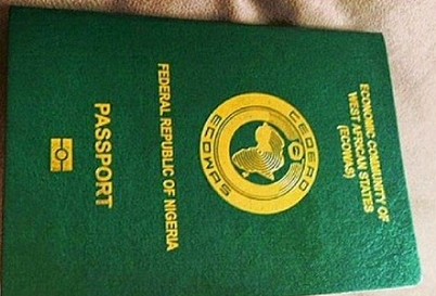 Image result for picture of nigerian international passport
