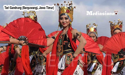 Tari Gandrung (Banyuwangi, Jawa Timur)
