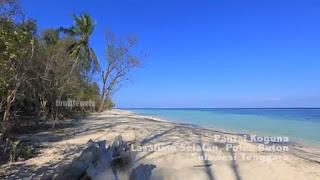 Wisata Pantai Koguna di Desa Mopaano