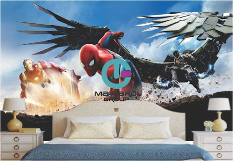 Wallpaper Custom Kartun | Jual Wallpaper Custom Kartun di Jogja | Jual Wallpaper Custom Kartun Spiderman  di Jogja