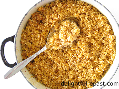 Perfect Fluffy Brown Rice / www.delightfulrepast.com