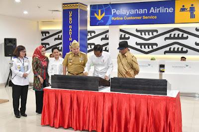 Presiden Jokowi Resmikan Bandara Internasional Radin Inten II