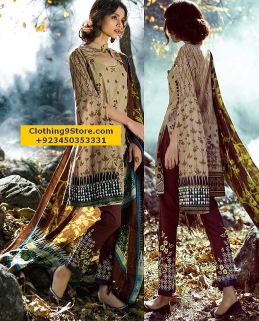 Lakhany Latest Shawl Collection 2017-2018