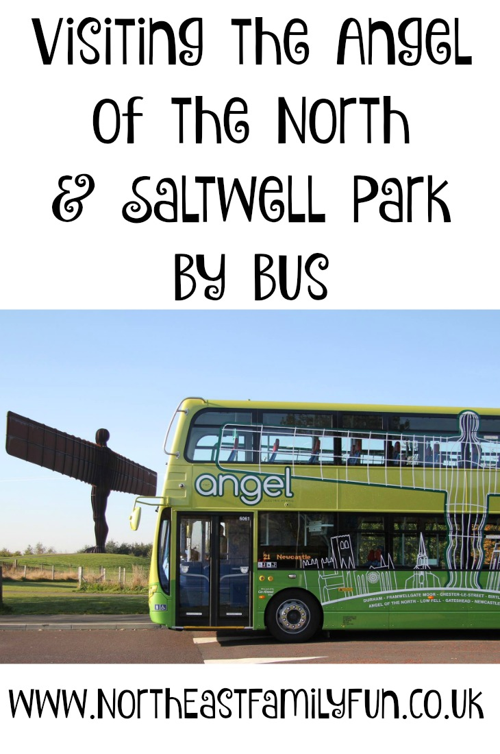 Visiting the Angel Of The North and Saltwell Park with Go North East Angel 21 bus