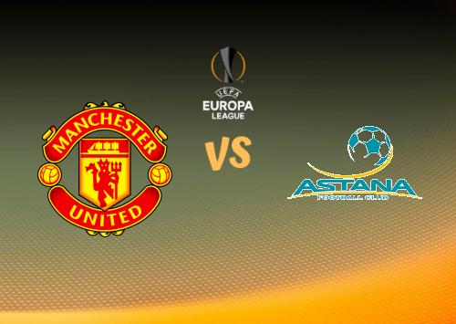 Manchester United vs Astana  Resumen y Partido Completo