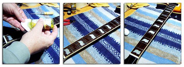 Hidratación y Limpieza del Diapasón de la Guitarra Eléctrica o Acústica