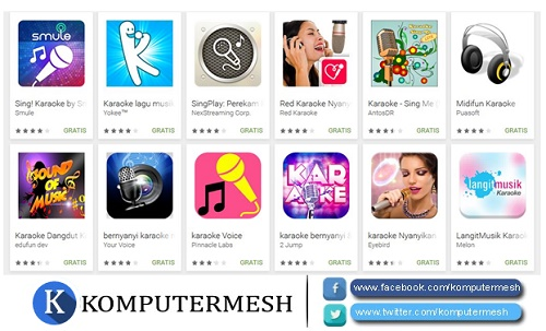 10 Aplikasi Karaoke Android Gratis Terbaik