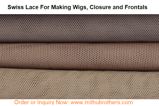 Swiss Lace Base Of Full Lace Human Hair Wigs