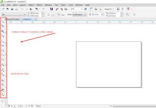 fungsi toolbox pada coreldraw berserta gambar