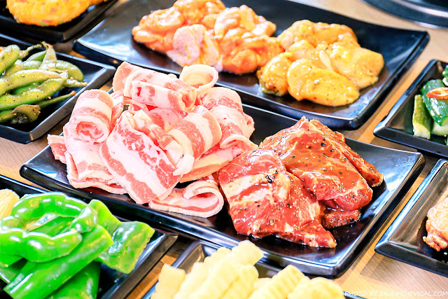 MG 1003 - 熱血採訪│韓式烤肉吃到飽400有找,多種肉品、蔬菜、熟食、小菜、飲料與冰淇淋,都在肉鮮生韓式烤肉吃到飽