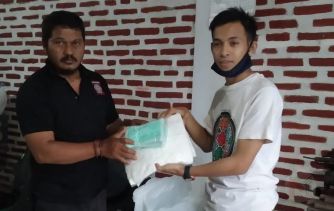 Tagana Serahkan Bantuan Ke Posko Tim Gugus Tugas Covid-19 PCNU Kabupaten Malang