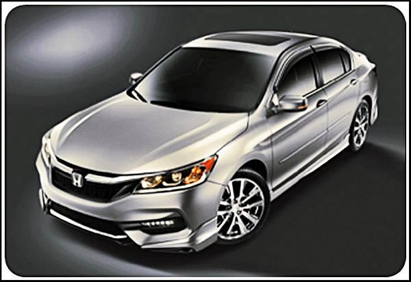 2017 Honda Accord Body Kit Concept   honda concept