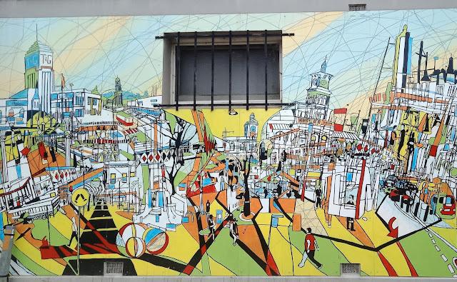 Street Art in Albury by Dan Mahon