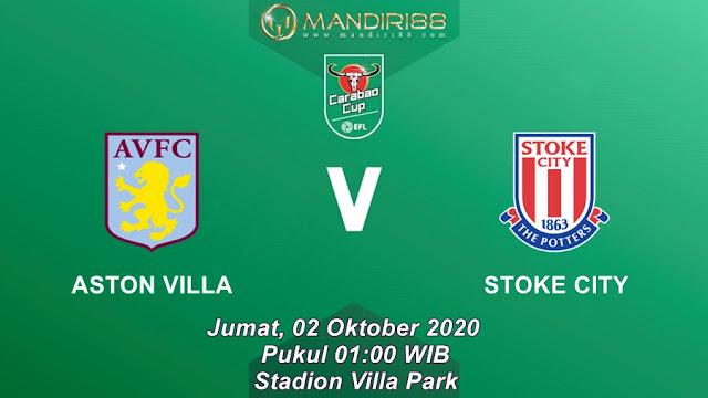 Prediksi Aston Villa Vs Stoke City, Jumat 02 Oktober 2020 Pukul 01.00 WIB @ Mola TV