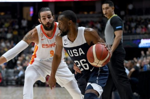 USA Defeats Spain 90-81 In FIBA Exhibition Game