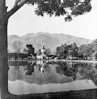 Kolam Makale di Tana Toraja, Sulawesi selatan, sekitar tahun 1948-1949