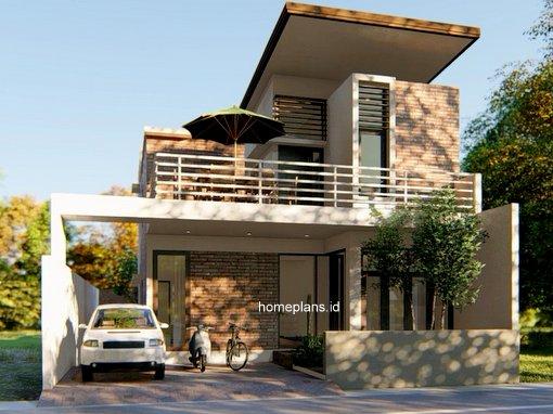 63 Foto Desain Rumah Balkon Belakang Terbaru Unduh
