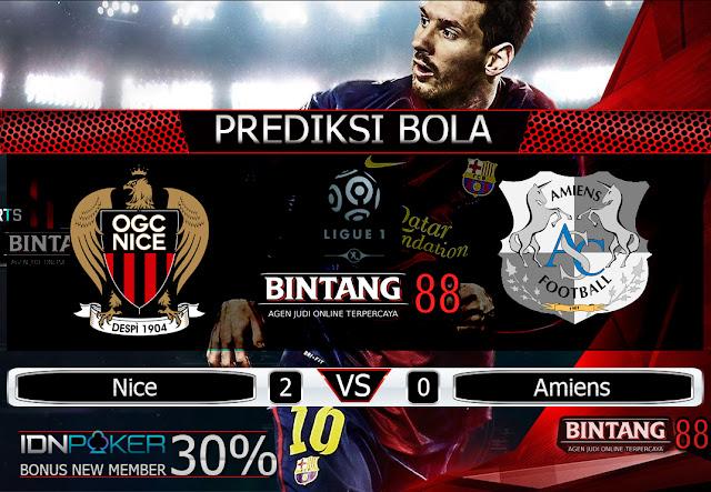 Prediksi Bola Nice vs Amiens 11 Agustus 2019
