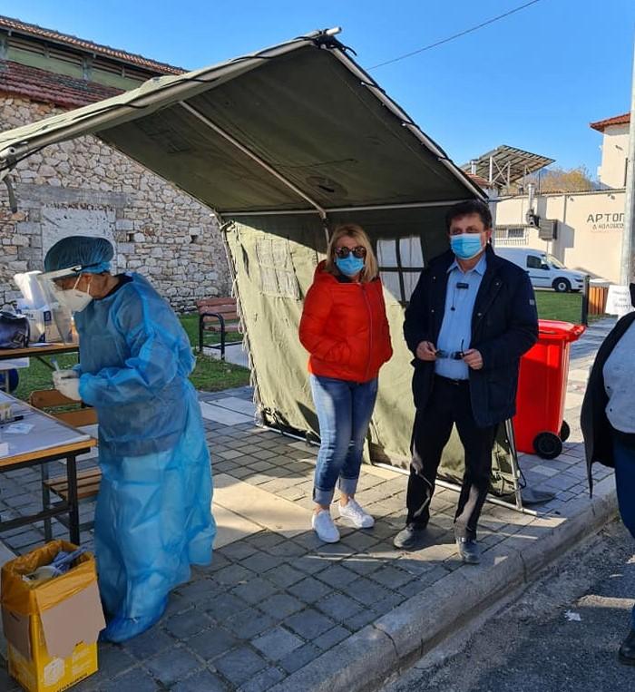 Απο το πρωί πραγματοποιούνται tests στο Δήμο Αλιάρτου - Θεσπιών(ΦΩΤΟ)