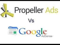 Google AdSense Vs Propellerads | Full Comparison