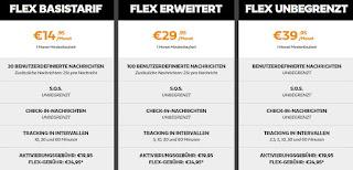 Spot vs Garmin (delorme inreach) - ein aktueller Vergleich der beiden Anbieter.