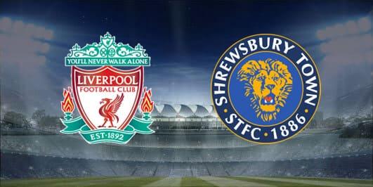 مباراة ليفربول وشوروسبري تاون بتاريخ 26-01-2020 كأس الإتحاد الإنجليزي