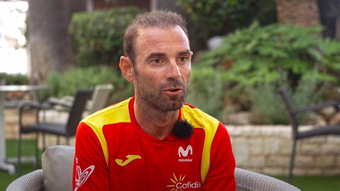 Alejandro Valverde habla sobre los Juegos Olímpicos