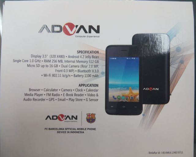 Firmware Advan S3E Jelly Bean Tested