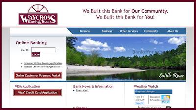 Waycross Bank and Trust Online Banking