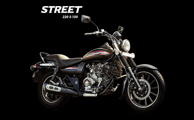 2015 New Launched Bajaj Avenger Street 150 Cruiser