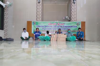 Bansos KNPI Bersama Dinpora Demak di Masjid Nahdlotul Muttaqin Wonosekar