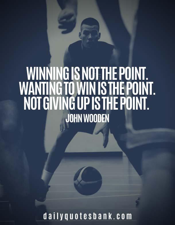 John Wooden Quotes On Winning