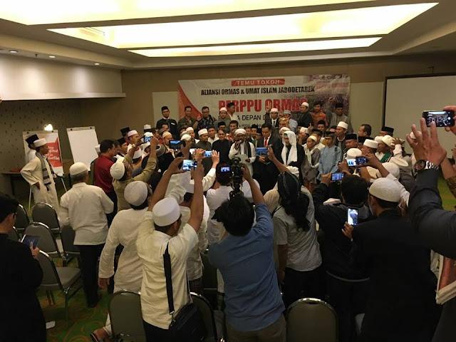 Aliansi Ormas Islam se-Jabodetabek Tandatangani Petisi Penolakan Perppu Nomor 2 Tahun 2017