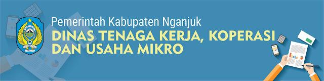 Dinas Tenaga Kerja Koperasi Dan Usaha Mikro Daerah Kabupaten Nganjuk - Disnaker, Depnaker, Alamat dan Nomor Telpon