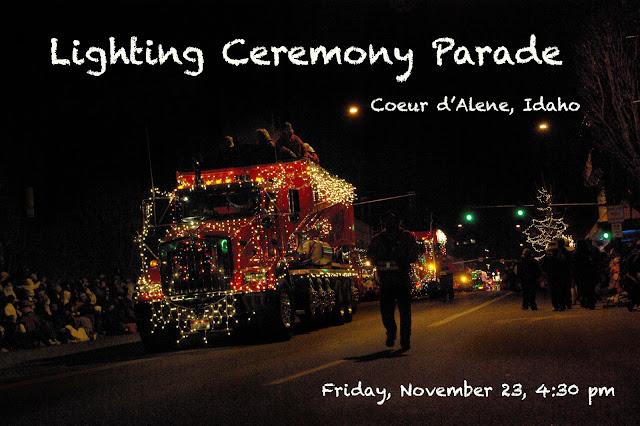 Coeur D Alene Lighting Ceremony Parade Amp Fireworks Lake
