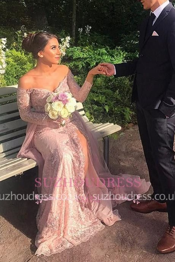 https://www.suzhoudress.co.uk/appliques-elegant-mermaid-split-off-the-shoulder-front-lace-long-sleeve-evening-dress-g22849?cate_1=38