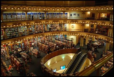 #Travel - O que quero ver em Buenos Aires Livraria El Ateneo