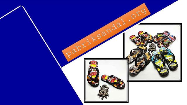 Pabrik Sandal Anak Karakter Lucu - Sandal AMX Karakter Spon Anak