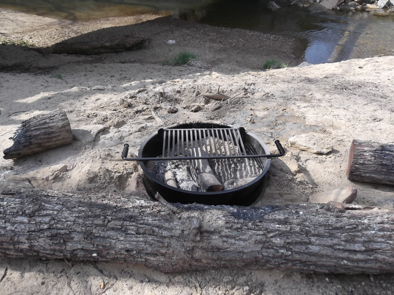 Brand new fire grill