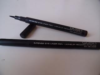 Gosh - eyeliner - liquid liner - felt tip eye liner - review - swatch