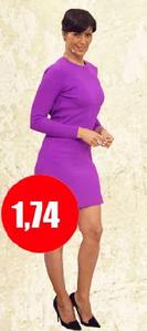 Cuánto mide Tonka Tomicic