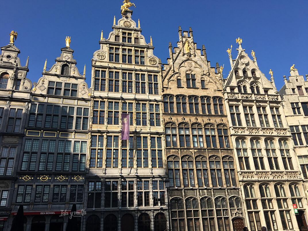 Edificios de Grote Markt Amberes