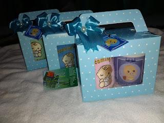 contoh paket souvenir handuk + mug cetak di sh grosir - pusat grosir handuk surabaya