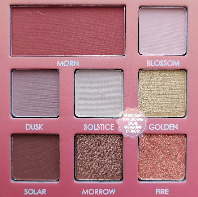 REVIEW Sunset Dream Palette by Detail Cosmetics + Swatches